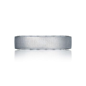 Tacori Sculpted Crescent Platinum Wedding Band