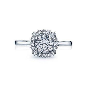 Tacori Platinum Full Bloom Solitaire Engagement Ring