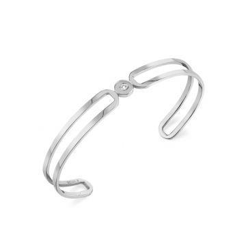 Michael M 14k White Gold Diamond Bracelet