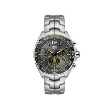 TAG Heuer 43mm Quartz Chronograph Watch - Senna special edition