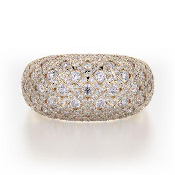 Michael M 18k Gold Yellow Diamond Ring
