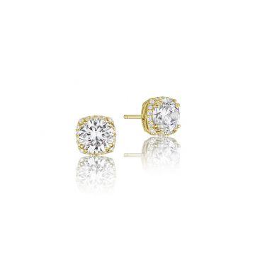Tacori 18k Yellow Gold Tacori Diamond Jewelry Drop Earring