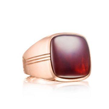 Tacori 18k Rose Gold Legend Cushion Cabochon Ring
