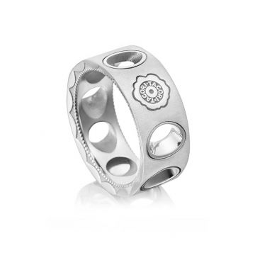 Tacori Silver Monterey Roadster Vented Ring