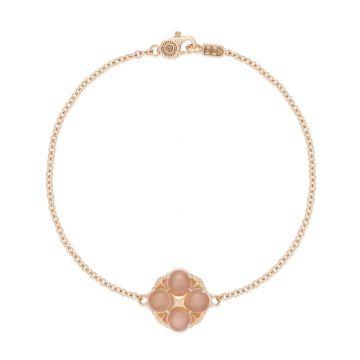 Tacori 18k Rose Gold  Crescent Sunset Gemstone Women's Bracelet