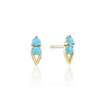 Tacori 14k Yellow Gold Petite Gemstones Gemstone Stud Earring