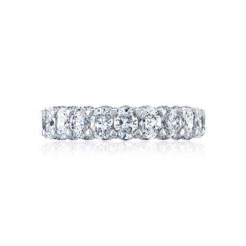Tacori 18k White Gold RoyalT Eternity Wedding Band