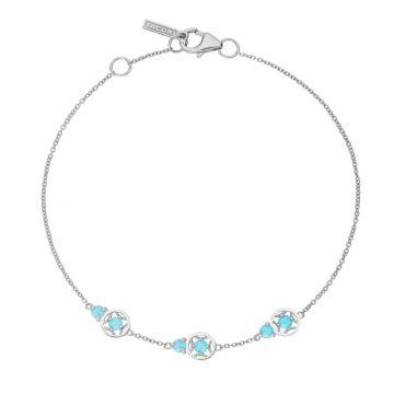 Tacori Petite Gemstone Bracelet with Turquoise