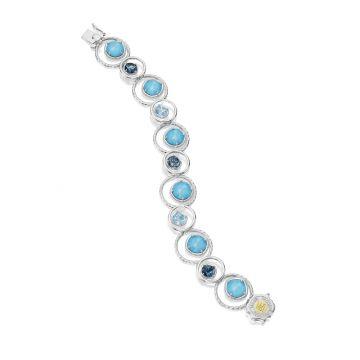 Tacori Enchanted Pool Petite Bracelet featuring Assorted Gemstones