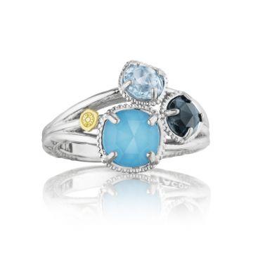 Tacori Petite Budding Brilliance Ring featuring Assorted Gemstones