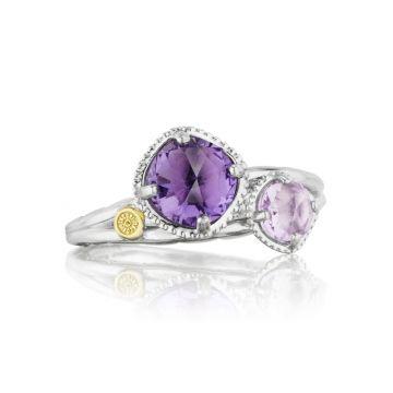 Tacori Budding Brilliance Duo Ring featuring Assorted Gemstones