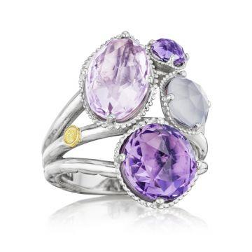 Tacori Precious Cluster Ring featuring Assorted Gemstones