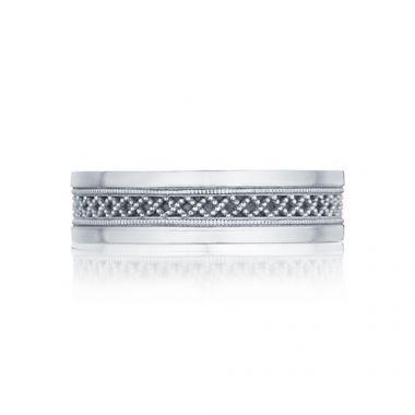 Tacori Sculpted Crescent Platinum Wedding Band