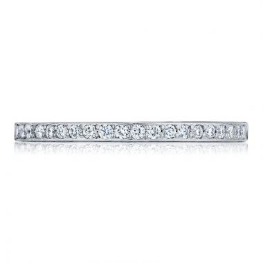 Tacori Platinum Ribbon Anniversary Diamond Women's Wedding Band