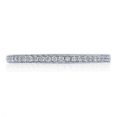 Tacori Platinum Ribbon Eternity Diamond Women's Wedding Band