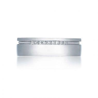 Tacori Platinum Simply Tacori Diamond Wedding Band