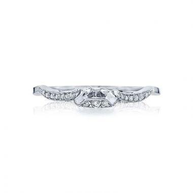 Tacori Platinum Ribbon Diamond Wedding Band