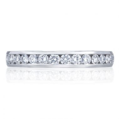 Tacori Platinum Dantela Anniversary Diamond Women's Wedding Band