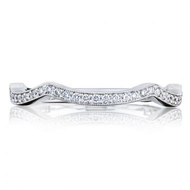 Tacori Platinum Simply Tacori Anniversary Diamond Women's Wedding Band