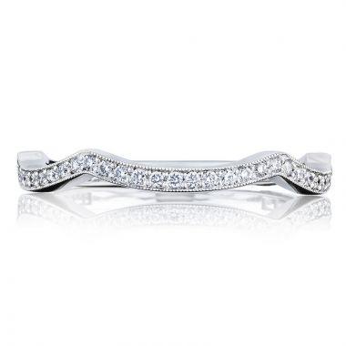 Tacori Platinum Simply Tacori Anniversary Diamond Women's Wedding Band