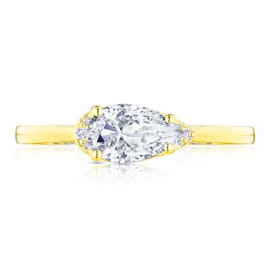Tacori 18k Yellow Gold Simply Tacori Solitaire Diamond Engagement Ring