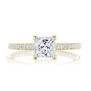 Tacori 18k Yellow Gold Simply Tacori Straight Diamond Engagement Ring