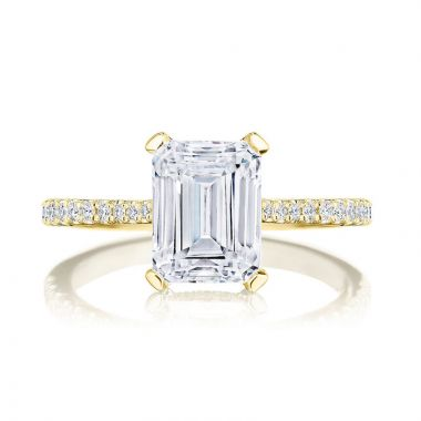 Tacori 18k Yellow Gold Simply Tacori Straight Diamond Engagement Ring