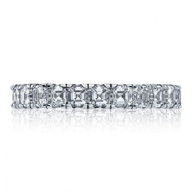 Tacori Platinum Clean Crescent Anniversary Diamond Women's Wedding Band