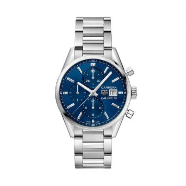TAG Heuer Carrera Calibre 16 Automatic Steel 41mm Watch