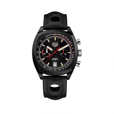TAG Heuer Monza Calibre 17 Automatic Black Titanium 42mm Watch