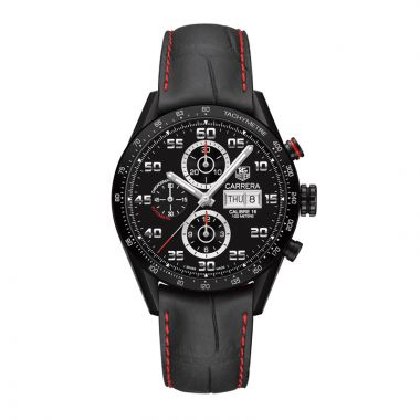 TAG Heuer Carrera Calibre 16 Automatic Black Titanium Watch