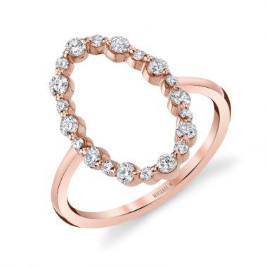 Michael M 14k White Gold Ring