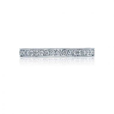 Tacori Platinum Blooming Beauties Eternity Wedding Band