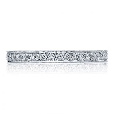 Tacori Platinum Blooming Beauties Eternity Diamond Women's Wedding Band