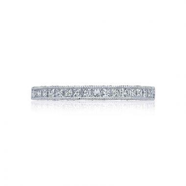 Tacori Platinum Blooming Beauties Eternity Wedding Band