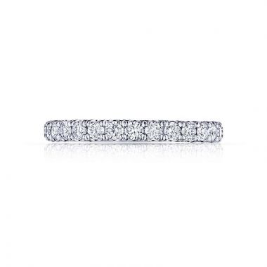 Tacori Platinum Petite Crescent Anniversary Wedding Band