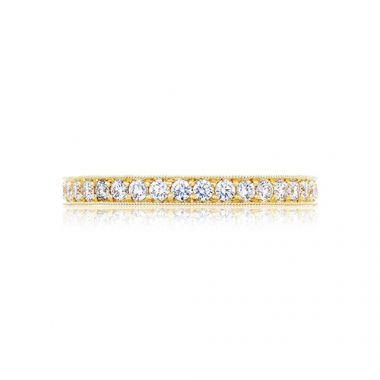 Tacori 18k Yellow Gold 0.65ct Diamond Wedding Band