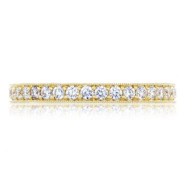 Tacori 18k White Gold RoyalT Anniversary Diamond Women's Wedding Band