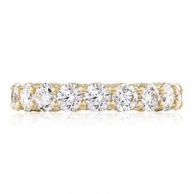 Tacori 18k White Gold RoyalT Eternity Diamond Women's Wedding Band