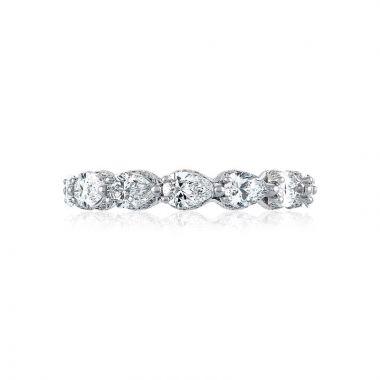 Tacori 18k White Gold RoyalT Diamond Wedding Band