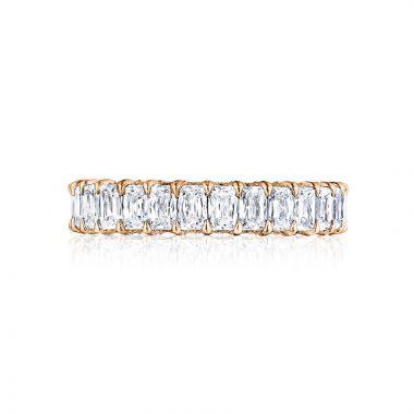 Tacori 18k Rose Gold RoyalT Eternity Wedding Band