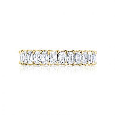 Tacori 18k Yellow Gold RoyalT Eternity Wedding Band