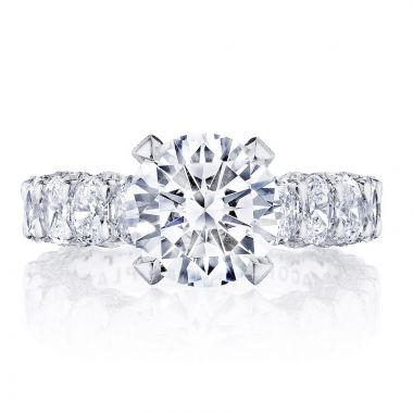 Tacori Platinum RoyalT Straight Diamond Engagement Ring