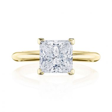 Tacori 18k Yellow Gold RoyalT Solitaire Diamond Engagement Ring