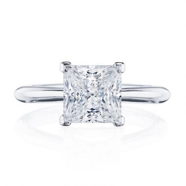 Tacori Platinum RoyalT Solitaire Diamond Engagement Ring