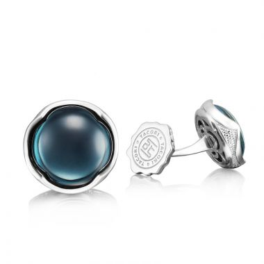 Tacori Sterling Silver Retro Classic Gemstone Men's Cuffink