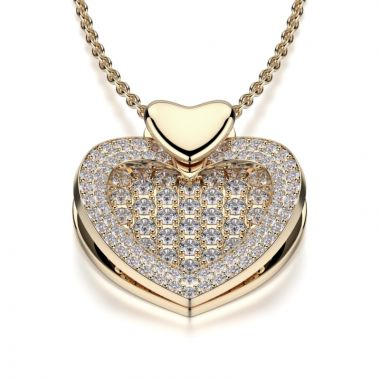 Michael M 14k Yellow Gold Diamond Necklace