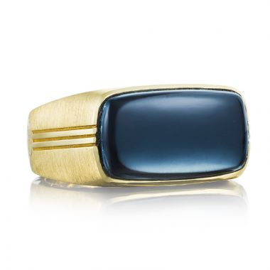 Tacori 18k Yellow Gold Legend Gemstone Men's Ring