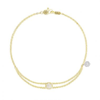 Tacori 18k Yellow Gold   Sonoma Mist Diamond Women's Bracelet