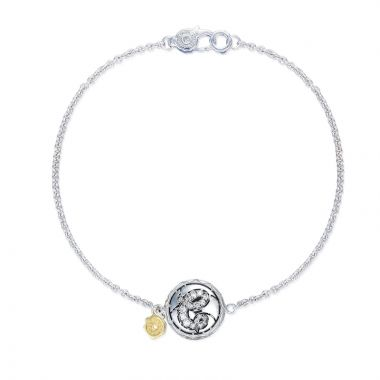 Tacori Sterling Silver Love Letters Diamond Women's Bracelet